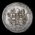INC-1987-a Талер Мюнстер Христоф Бернгард фон Галлен 1661 г. (аверс).png