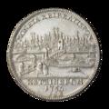 INC-795-r Талер Регенсбург император Франц I 1756 г. (реверс).png