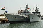 INS Shivalik and INS Betwa at Chennai port during Malabar 2015.jpg