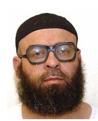 Mohammed Ahmad Said Al Edah - Mohammed Ahmad Said Al Edah, wearing the white uniform issued to compliant individuals