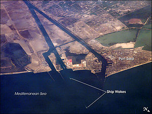 Port Said - Port Said and Suez Canal
