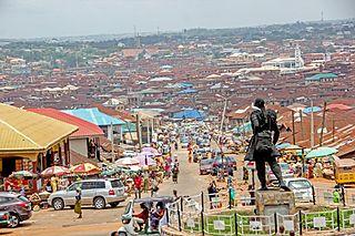 Ibadan Metropolis in Oyo, Nigeria