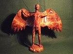 Icarus. Greek Mythology. Mixed Media Sculpture by Kuriologist.jpg