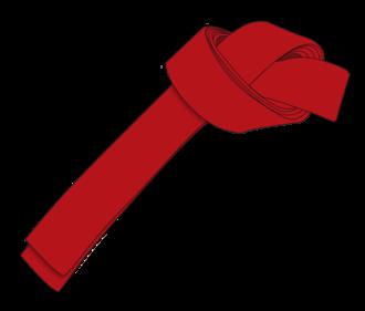 Hapki Kochido Musool - Image: Ichf red belt 3rd Gup large