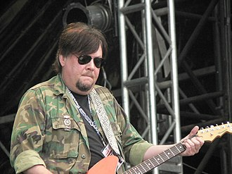 Ron Asheton - Ron Asheton playing at Sziget Festival
