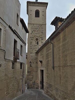 Iglesia de San Bartolomé, Toledo - Tower of the church