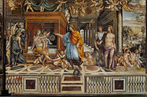 Il Sodoma. Villa Farnesina fresco1