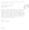 Il telegramma con la Benedizione Apostolica di Sua Santità Papa Giovanni Paolo per l'inaugurazione del Sacrario.png