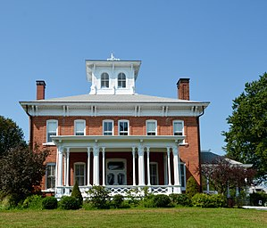 National Register of Historic Places listings in Jersey County, Illinois - Image: Image Fisher Chapman House