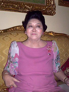 Imelda Marcos 10th First Lady of the Philippines