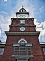 Independence Hall Clock Tower.jpg