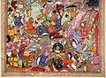 India del nord, periodo mogul, la presa di baghdad da parte di hulagu kahn, da un manoscritto di jami' al tawarikh, 1596, 03.jpg