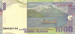 Tidore - Tidore Island featured in 1,000-rupiah banknote.