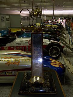 Indianapolis 500 Rookie of the Year Wikipedia list article