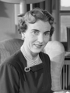 Queen Ingrid of Sweden Ingrid of Sweden and Denmark 1954.jpg