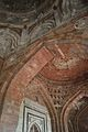 Inner Dome and Arch Detail - Qila-e-Kuhna Masjid - Old Fort - New Delhi 2014-05-13 2845.JPG