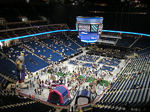 BOK Center - A public open house on August 30, 2008 served as the arena's opening event.
