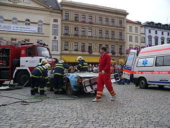 English: Emergency service in The Czech Republ...