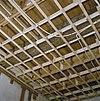interieur, begane grond, linker voorkamer, plafond, beschilderde moerbalken - 20000799 - rce