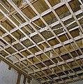 Interieur, begane grond, linker voorkamer, plafond, beschilderde moerbalken - 20000799 - RCE.jpg