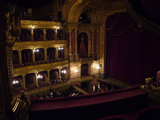 Budapest Philharmonic Orchestra - Hungarian State Opera House, the main concert venue of the orchestra