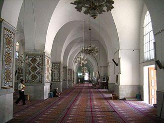 Great Mosque of al-Nuri (Homs) - The interior of the Great Mosque of al-Nuri in Homs