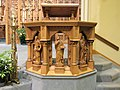 Interior of St. Raphael's Cathedral, Dubuque 03.jpg