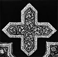 Iranian - Lusterware Cross-Shaped Tile - Walters 481290.jpg
