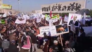 2012–13 Iraqi protests - Pro-Maliki demonstrators in January 2012.