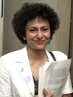 Irene Khan - Khan in November 2003