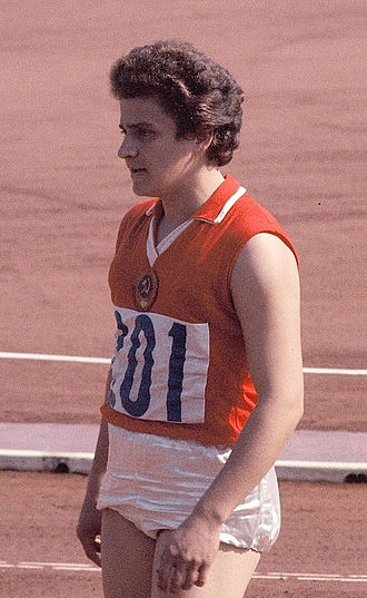 Irina Press - Irina Press at the 1964 Olympics