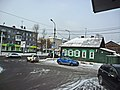 Irkutsk. February 2013. Cinema Barguzin, regional court, bus stop Volga, Diagnostic Center. - panoramio (43).jpg