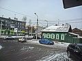 Irkutsk. February 2013. Cinema Barguzin, regional court, bus stop Volga, Diagnostic Center. - panoramio (43).jpg