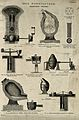 Iron; various machines involved in the Bessemer process of s Wellcome V0024615ER.jpg