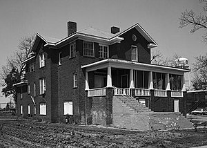 Mound Bayou, Mississippi - The Isaiah Thornton Montgomery House is one of three sites in Mound Bayou listed on the National Register of Historic Places.