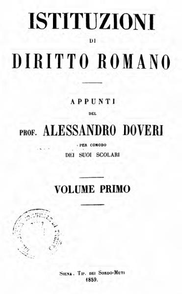 File:Istituzioni di diritto romano.djvu