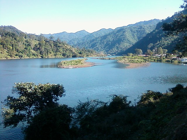 A lake in Itanagar