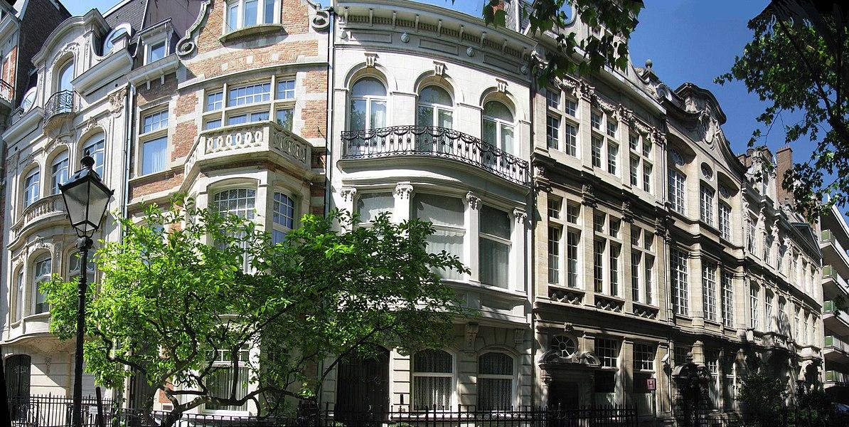 Ixelles, Hôtels de Maître avenue Molière, 230 à 236 par Camille Damman en 1912