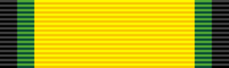 Orders, decorations, and medals of Jamaica - Image: JAM Order of Excellence sash ribbon