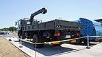 JASDF Cargo Truck(Isuzu Forward, 46-9701) left rear view at Miho Air Base May 28, 2017 02.jpg