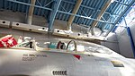 JASDF T-33A(71-5239) canopy left front view at Hamamatsu Air Base Publication Center November 24, 2014.jpg