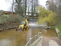JCB in the River Sid - geograph.org.uk - 1200314.jpg