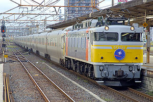 JNR Class EF81 - Image: JRE PC26 Cassiopeia 20070916 001