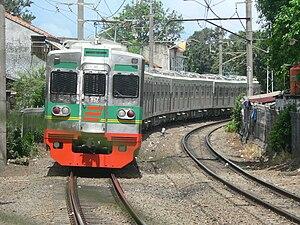 Toei 6000 series - Image: Jabodetabek Old 6000 Series 6171F EMU