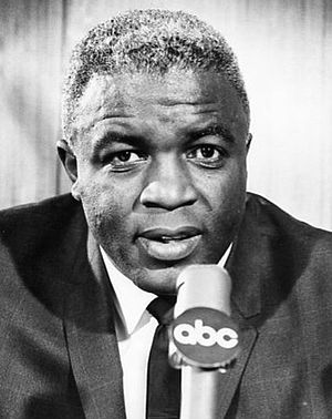 300px Jackie robinson abc sports announcer 1965 President Obama Wants to Visit Atlanta Movie Set of Jackie Robinson Film 42 Starring Chadwick Boseman