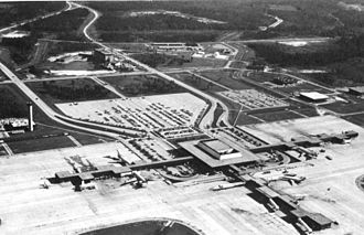 The Auchter Company - Jacksonville International Airport circa 1968