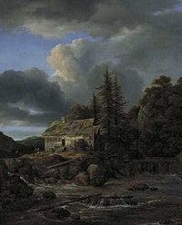 Jacob Isaacksz. van Ruisdael - Waterval - 1746 (OK) - Museum Boijmans Van Beuningen.jpg
