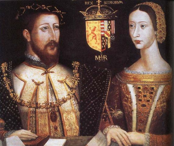 Король Шотландии Яков V и Мария де Гиз