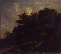 Jacob van Ruisdael - Wooded Landscape with Figures on a Path M0536-L-I-58.jpg