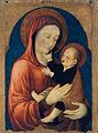 Jacopo bellini, madonna col bambino, Accademia, Venice 1450.jpg